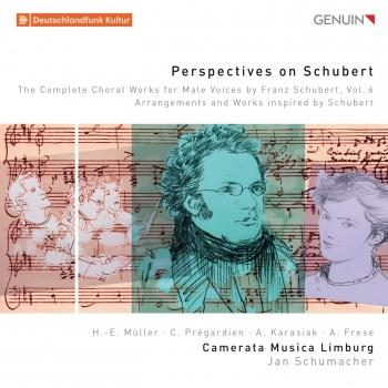 Cover Perspectives on Schubert: The Complete Choral Works for Male Voices by Franz Schubert, Vol. 6