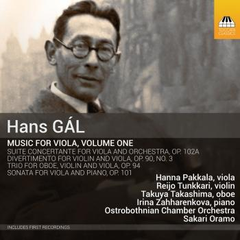 Cover Gál: Music for Viola, Vol. 1