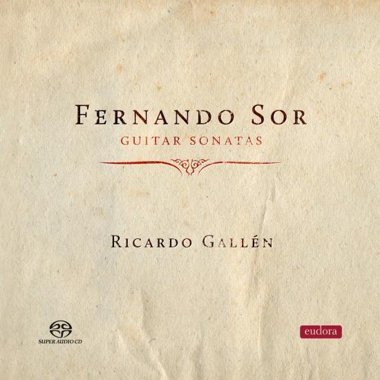 Cover Fernando Sor: Guitar Sonatas