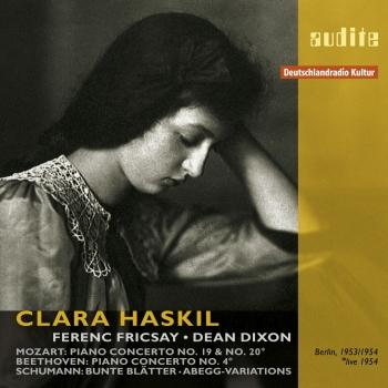 Cover Clara Haskil Plays Mozart, Beethoven and Schumann (The complete RIAS recordings, Berlin 1953 & 1954)