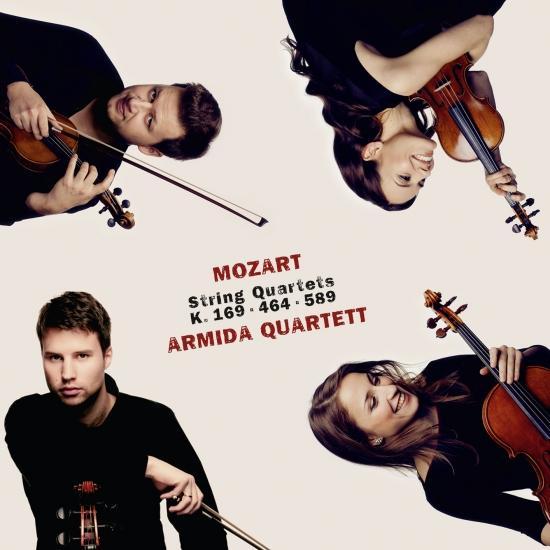 Cover Mozart: String Quartets K. 169, K. 464 & K. 589