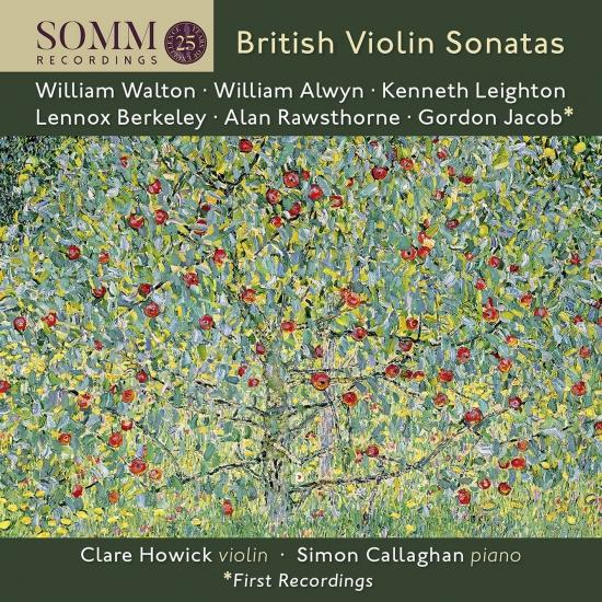Cover British Violin Sonatas