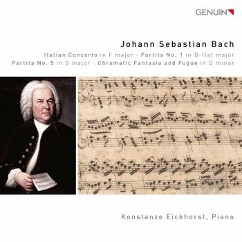 Cover J.S. Bach: Keyboard Works
