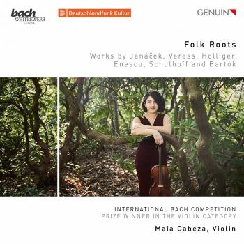 Cover Folk Roots: Works by Janáček, Veress, Holliger, Enescu, Schulhoff & Bartók