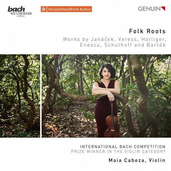 Cover Folk Roots: Works by Janáček, Veress, Holliger, Enescu, Schulhoff & Bartók