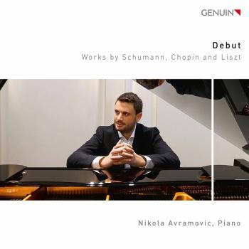 Cover Schumann, Chopin & Liszt: Debut