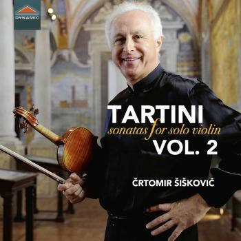 Cover Tartini: Sonatas for Solo Violin, Vol. 2
