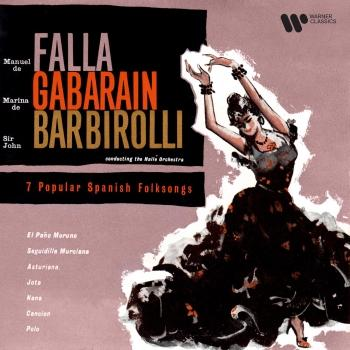 Cover Falla: 7 Popular Spanish Folksongs (Orch. Halffter) (Remastered)