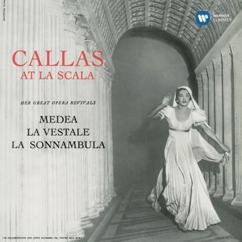 Cover Callas at La Scala - Callas Remastered