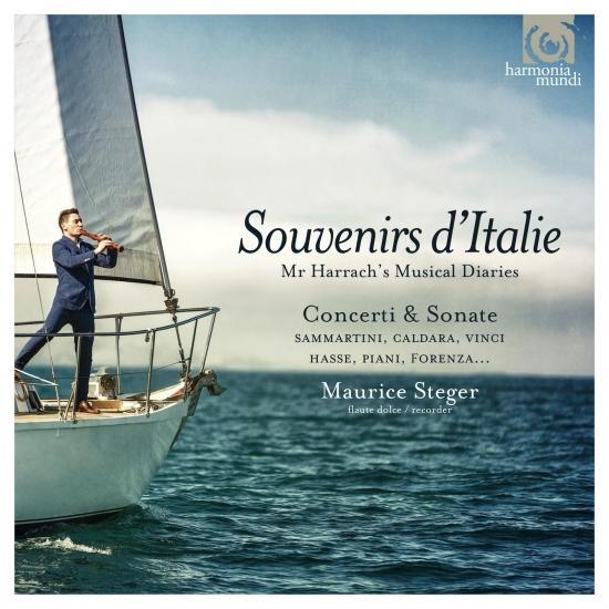Cover Souvenirs d'Italie