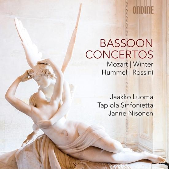 Cover Mozart, Winter, Hummel & Rossini: Bassoon Concertos