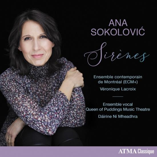 Cover Ana Sokolović: Sirènes