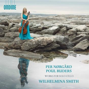 Cover Per Nørgård & Poul Ruders: Works for Solo Cello