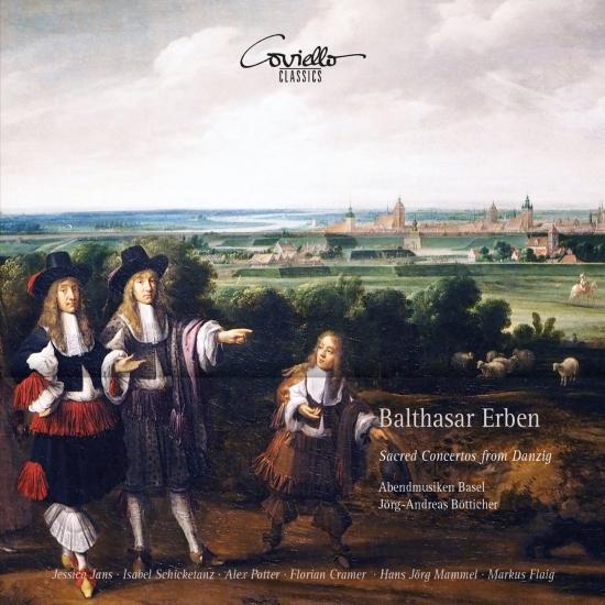 Cover Balthasar Erben: Sacred Concertos from Danzig
