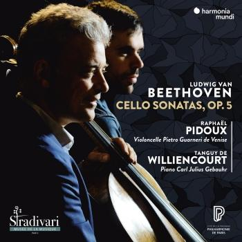 Cover Beethoven: Cello Sonatas, Op. 5
