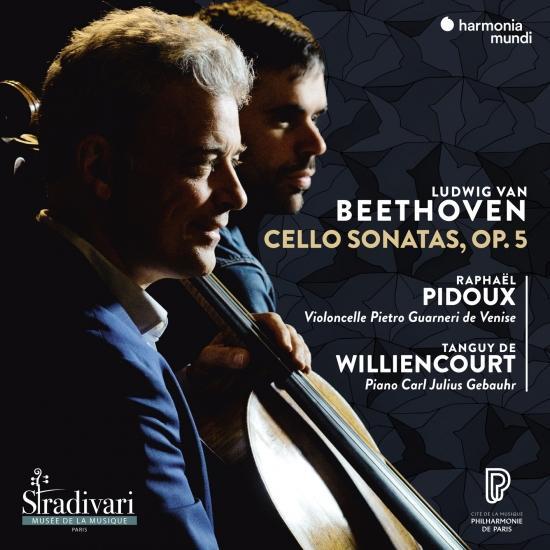 Cover Beethoven: Cello Sonatas, Op. 5