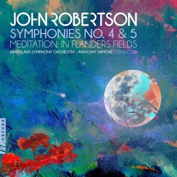 Cover John Robertson: Symphonies Nos. 4 & 5