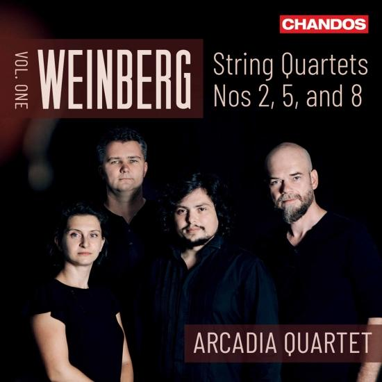 Cover Weinberg: String Quartets, Vol. 1