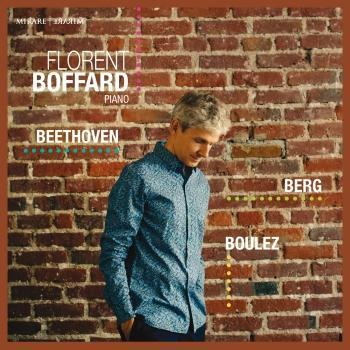 Cover Beethoven - Berg - Boulez