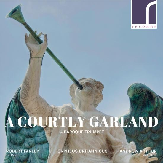 Cover A Courtly Garland for Baroque Trumpet