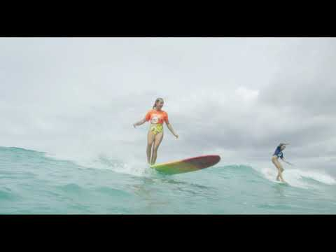 Video Brandi Disterheft - SURFBOARD