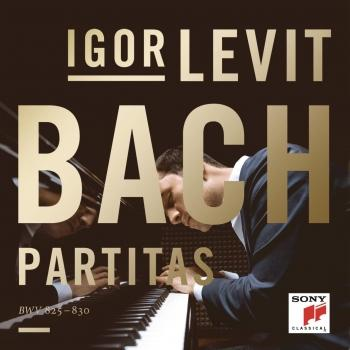 Cover Bach: Partitas, BWV 825-830
