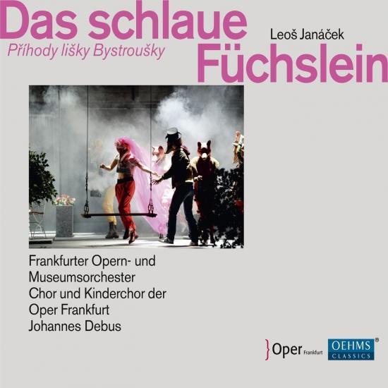Cover Janáček: Das schlaue Füchslein (Live)