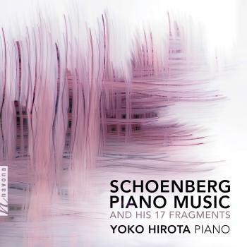 Cover Schoenberg: Piano Music
