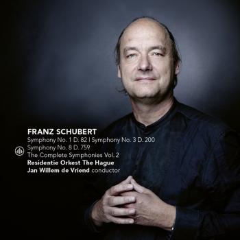 Cover Schubert: The Complete Symphonies Vol. 2 (Symphony No. 1, D. 82 / Symphony No. 3, D. 200 / Symphony No. 8, D. 759