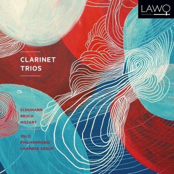 Cover Clarinet Trios: Schumann; Bruch; Mozart