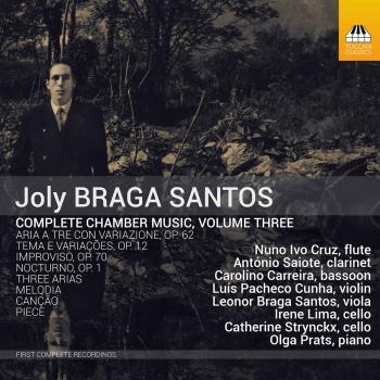 Cover Joly Braga Santos: Complete Chamber Music, Vol. 3
