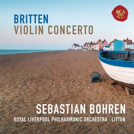 Cover Britten: Violin Concerto in D Minor, Op. 15