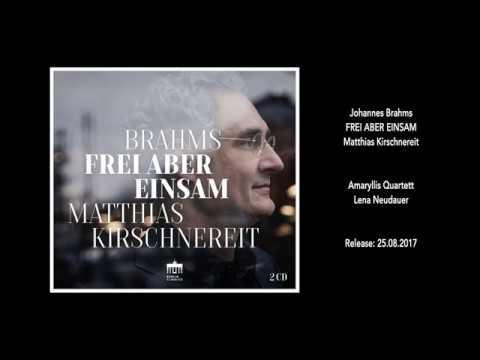 Video Matthias Kirschnereit - Frei Aber Einsam - Allegro maestoso (Teaser)