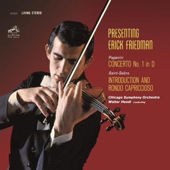 Cover Paganini: Violin Concerto No. 1 in D Major, Op. 6 - Saint-Saëns: Introduction et Rondo capriccioso in A Minor, Op. 28