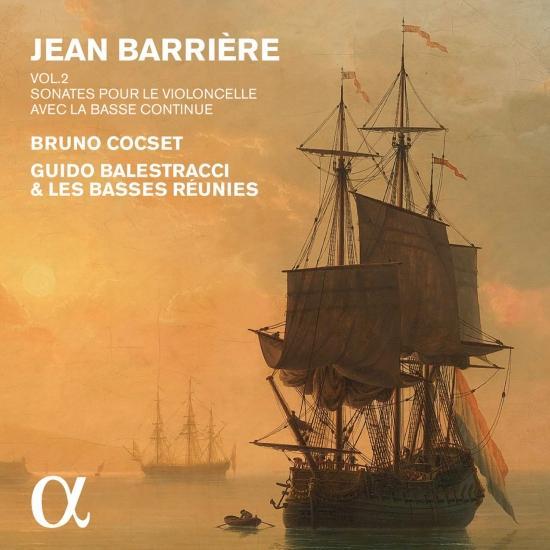 Cover Barrière: Sonates pour le violoncelle avec la basse continue, Vol. 2