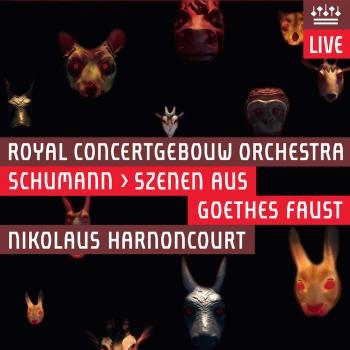 Cover Schumann: Scenen aus Goethes Faust