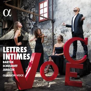 Cover Bartók, Schulhoff & Janáček: Lettres intimes