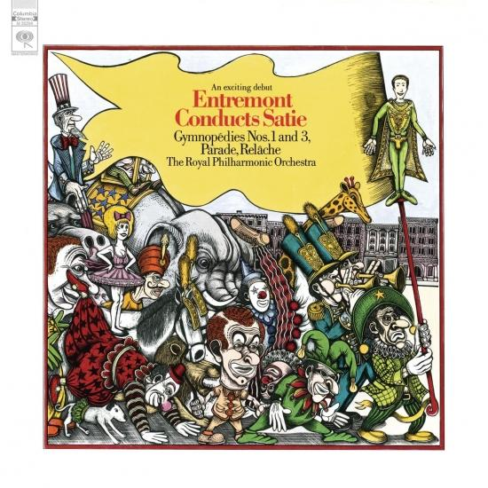 Cover Entremont Conducts Satie