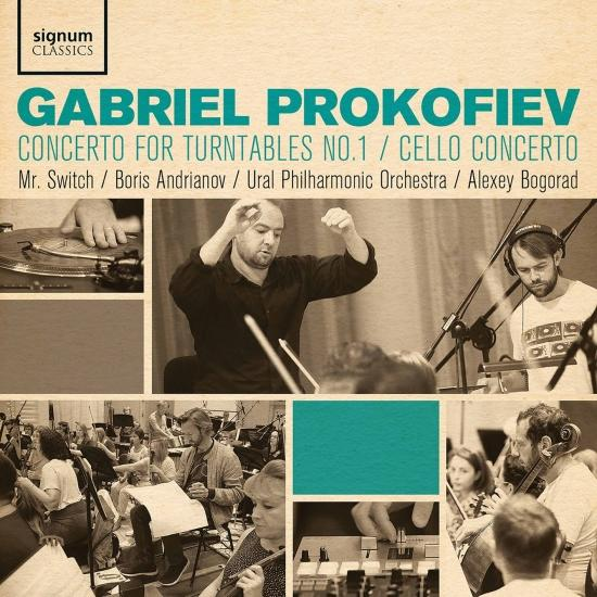 Cover Gabriel Prokofiev: Concerto for Turntables No. 1, Cello Concerto