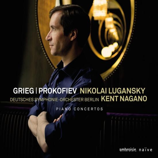 Cover Grieg / Prokofiev: Piano Concertos