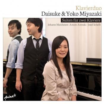 Cover Suiten für zwei Klaviere