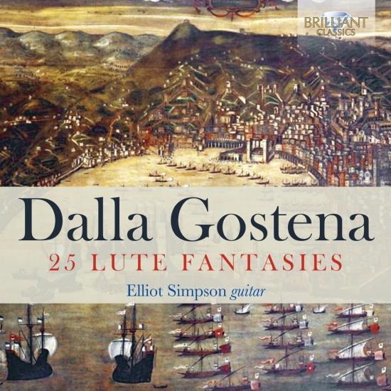 Cover Dalla Gostena: 25 Lute Fantasies