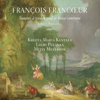 Cover Francœur: 10 Sonatas for Violin & Continuo, Book 1