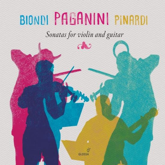Cover Paganini: Sonatas for Violin & Guitar