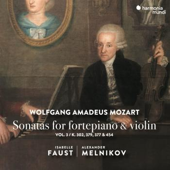 Cover Mozart: Sonatas for Fortepiano & Violin, Vol. 3