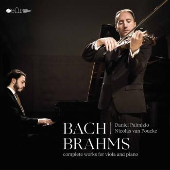 Cover J.S. Bach & Brahms: Complete Works for Viola & Piano