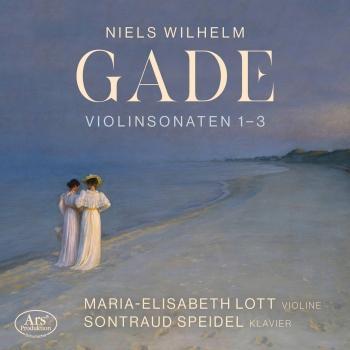 Cover Gade: Violin Sonatas Nos. 1-3
