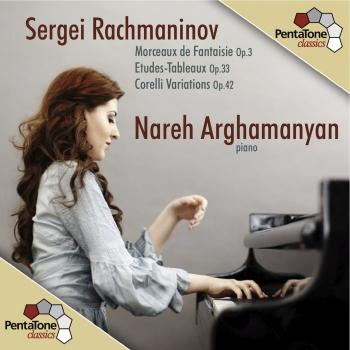 Cover Rachmaninov: Morceaux de Fantaisie / Etudes-Tableaux / Variations on a Theme of Corelli