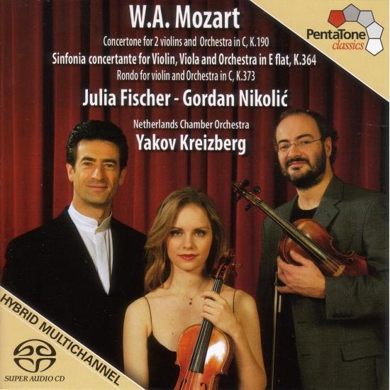 Cover Mozart: Sinfonia Concertante, K. 364 / Concertone in C Major, K. 190 / Rondo in C Major, K. 373