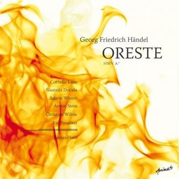 Cover Georg Friedrich Händel - Oreste